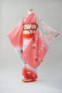 7歳女の子 ピンク桜くす玉